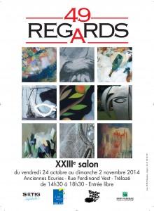 Invitation à l'exposition de Trélazé