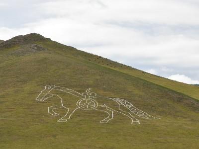 Le grand cheval de Talbiun – Mongolie