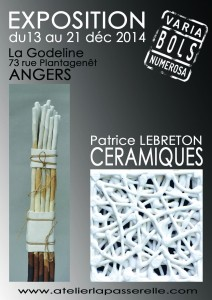 Affiche de l'Exposition LEBRETON godeline angers
