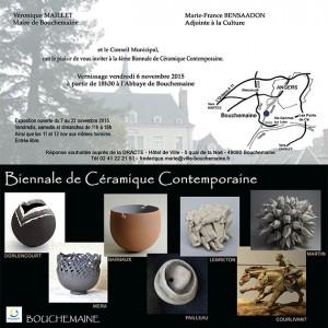 4ème biennale de ceramique de Bouchemaine